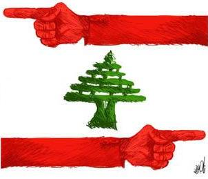 which way lebanon